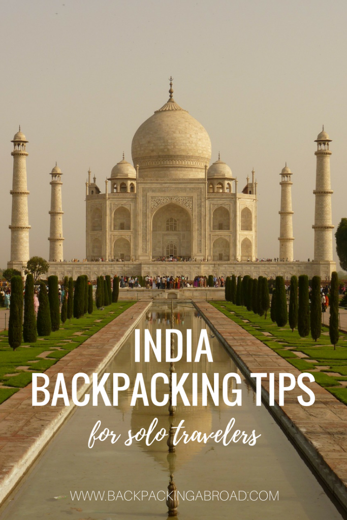 India Backpacking Tips for Solo Travelers